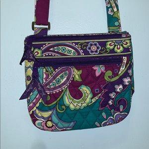 Purple and blue Vera Bradley crossbody purse 💙💜